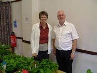 David and Lynne Lawson of Barnhaven Primroses, France